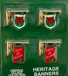 Department 56 Heitage Banners Set 4 55263