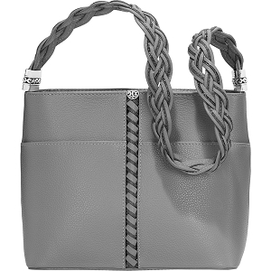 Barbados Beaumont Square Bucket Bag Dove H4312D