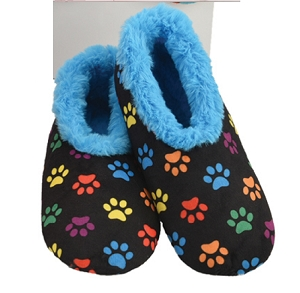 Dog Paws Blue Medium 7 - 8