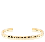 Dream Believe Achieve Gold