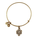 Endless Knot Bangle Rafaelian Gold