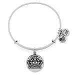 Queen's Crown Charm Bangle Rafalian Silver