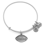 Pittsburgh Steelers Football Charm Rafaelian Silver