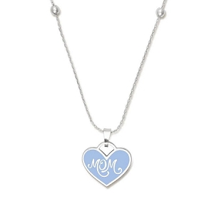 Mom Color Infusion Expandable Necklace Silver
