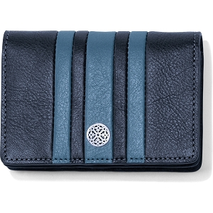 Santorini Card Case Canyon Blue Ink E3139B