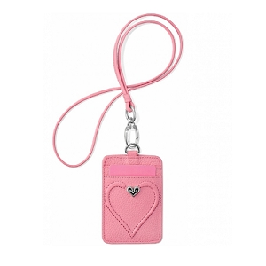Power Of Pink Leather ID Holder E50770