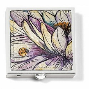 Enchanted Garden Pill Box E5292M