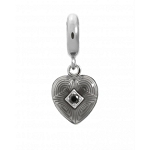 Endless Jewelry Jennifer Lopez Black Big Heart Charm 1350-1