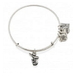 Horse Saddle II Charm Bangle Rafaelian Silver