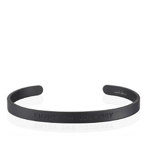Mens Enjoy the Journey Matte Black