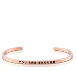 You Are Enough Rose Gold