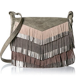 STEVEN by Steve Madden Everly Cross Body Handbag Charcoal