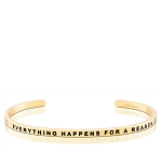Everything Happens For A Reason Gold