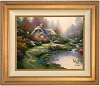 Thomas Kinkade Everetts Cottage 24 x 30 Canvas Framed