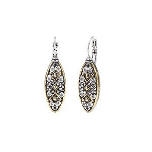Filigree CZ French Wire Earrings F3886-A0F0