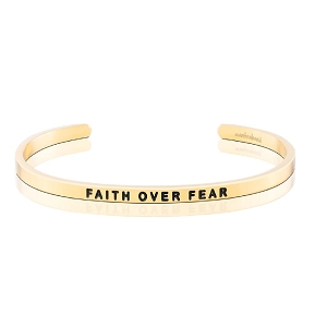 Faith Over Fear Gold