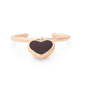 Depth of Love Adjustable Ring Rose Gold
