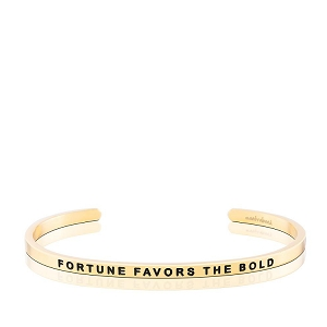 Fortune Favors The Bold Gold