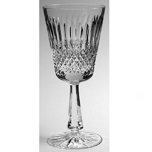 Galway Claddagh Water Glass (Older,Square Bowl)