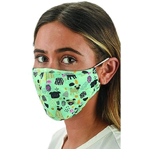 Snoozies Dogs Reusable Face Covering Mask w/ 4 Filters