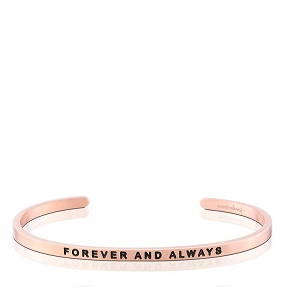 Forever And Always Rose Gold