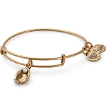 Oyster and Pearl Bangle Rafaelian Gold