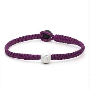 Single Wrap Bracelet Fuchsia Small