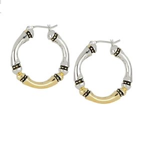 Canias Original Collection Large Hoop Earrings G4070-A000