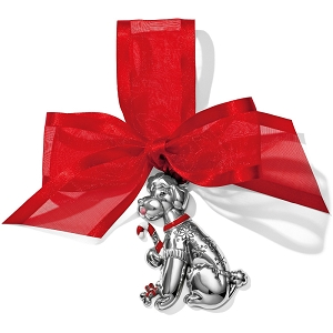 Candy Cane Dog Christmas Ornament G70800
