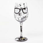 Geeks See Things Wine Glass 4054091