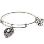 Guardian Angel Charm Bangle Rafaelian Silver