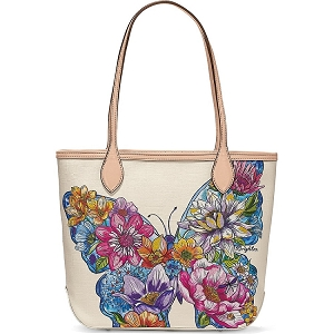 Lily Embroidered Tote Multi H5484M