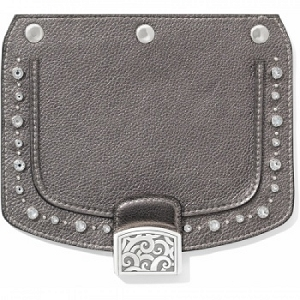 Snappy Flap Pretty Glam Anthracite Pewter H8104A