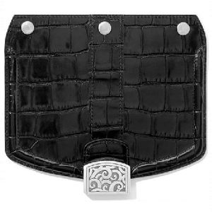 Mod Croc Snappy Flap Black H81063