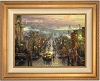 Thomas Kinkade Heart of San Francisco 24 x 25 1/2 Double Signed