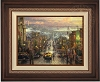 Thomas Kinkade Heart of San Francisco Framed 20 x 24 Double Signed