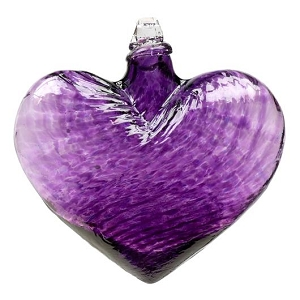 Hearts of Glass Purple