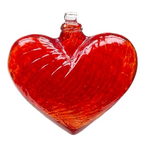 Hearts of Glass Red