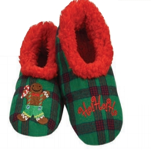 Kids Ugly Christmas HoHoHo Slippers Large 4-5