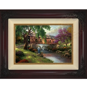 Thomas Kinkade Old Fishin Hole