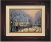 Thomas Kinkade A Holiday Gathering 25 1/2 x 34 Canvas