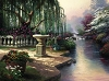 Thomas Kinkade Hour Of Prayer 25 1/2 34 Canvas
