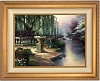 Thomas Kinkade Hour Of Prayer 25 1/2 x 34 Canvas Framed