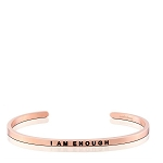 I Am Enough Rose Gold