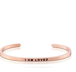 I Am Loved Rose Gold