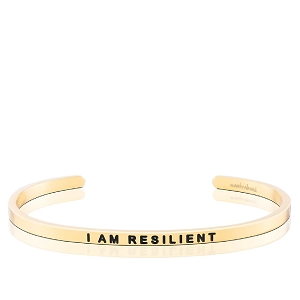 I AM RESILIENT Gold