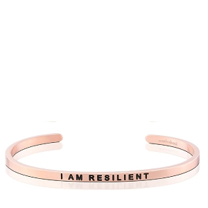 I AM RESILIENT Rose Gold