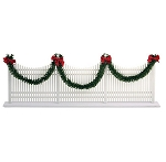 Byers Choice Decorated Picket Fence 623