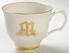 Pickard China Reflection Monogrammed M Cup