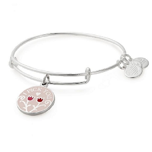 I Pick You Color Infusion Bracelet Shiny Silver Finish